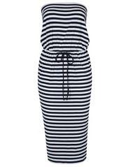 G21 Stripe Bandeau Midi Dress £10