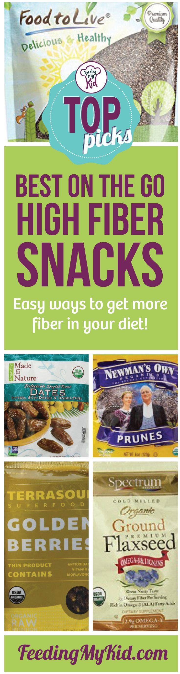 These are our top picks for high fiber snacks on the go! We curated a number of…