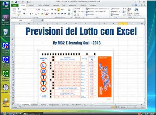 Previsioni del Lotto con Excel  Fare previsioni sul lotto con Excel significa anche poter testare le progressioni di gioco sui dati storici e fornire la previsione generale degli utili e delle perdite dati i numeri e la strategia di gioco.