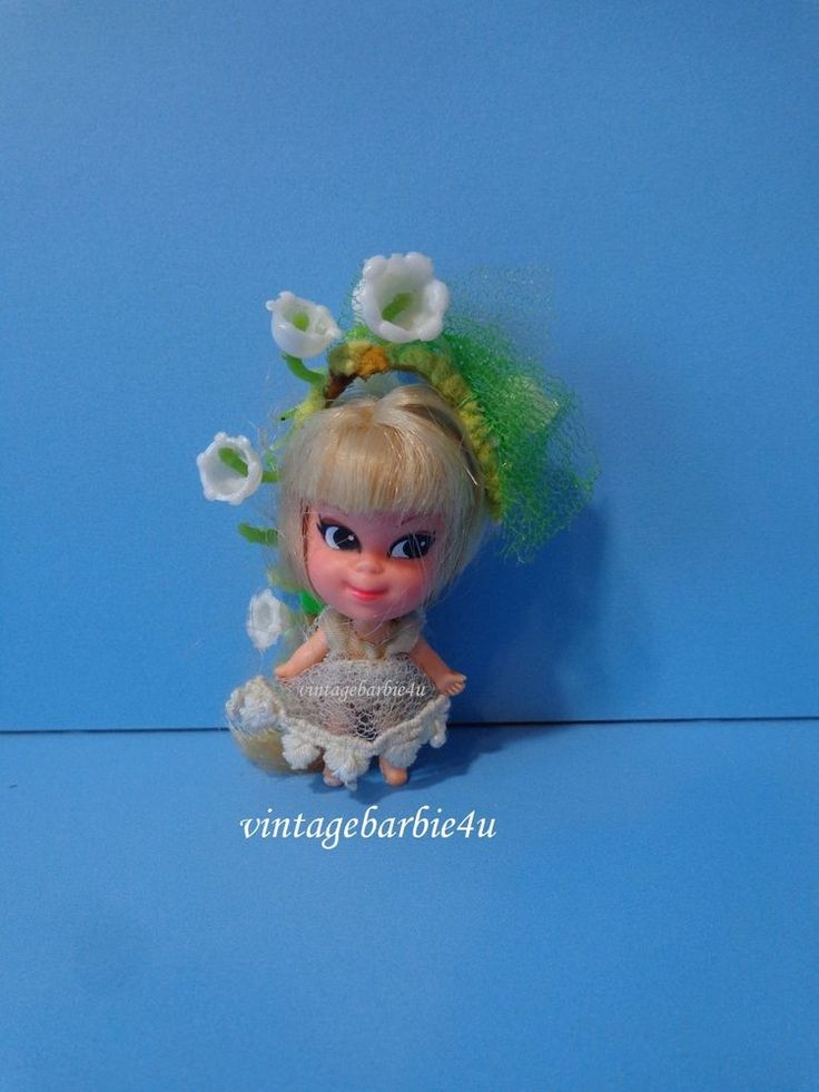 Vintage Liddle Kiddle Kolognes #3706 Lily Of The Valley 1960s Mattel #Mattel #DollswithClothingAccessories