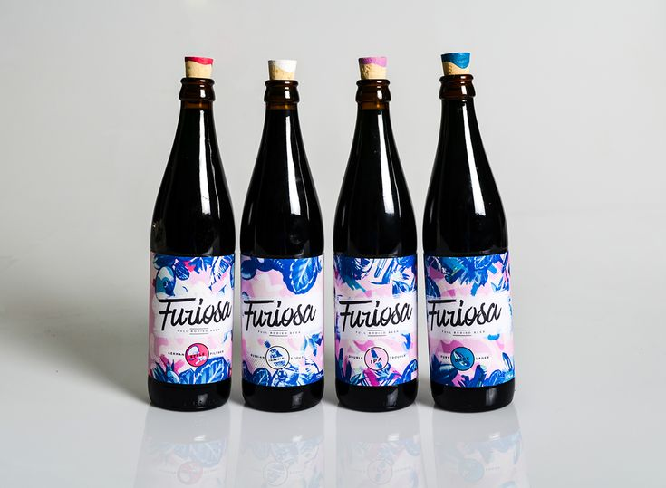 Craft Beer - Full bodied feminine beer / Furiosa on Behance