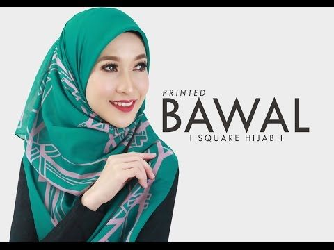 HIJAB TUTORIAL ZAWARA BAWAL - YouTube