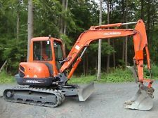 KUBOTA 161-3st EXCAVATOR WITH THUMB apply to finance www.bncfin.com/apply excavators for sale - excavator financing