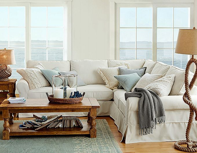 Best 25+ Beach style sectional sofas ideas on Pinterest Living - coastal living room furniture