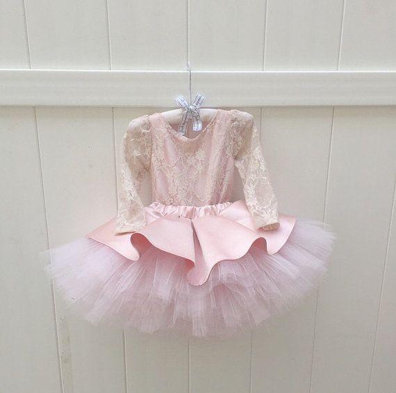 ELLEN DRESS Flower Girl Dress Lace Dress by IsabellaCoutureShop