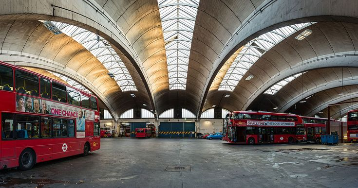 Stockwell Garage / London 1952 / Adie, Button and Partners