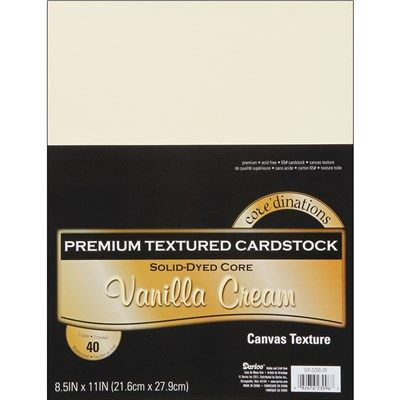 """""""Core'dinations Value Pack Cardstock 8.5""""""""X11"""""""" 40/Pkg"""" (117916)   Create and Craft"""