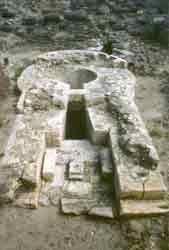 Perfugas, pozzo sacro di Predio Canopoli, 1300 - 900 A.C.  Sardegna
