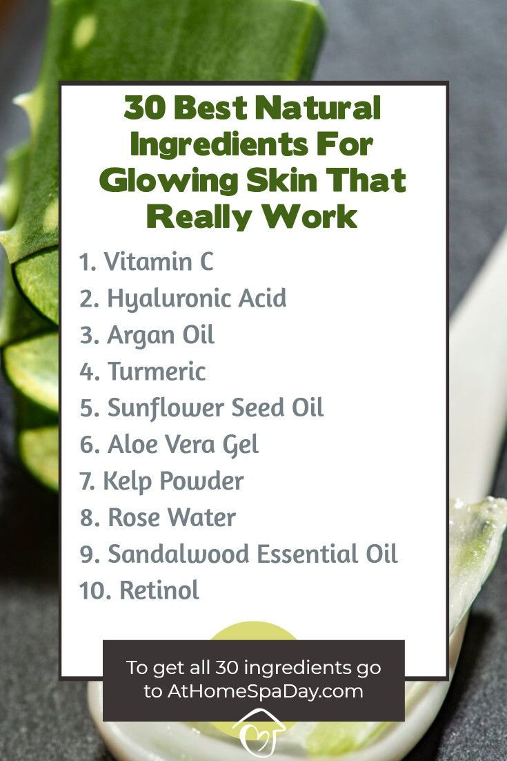 8 Best Natural Ingredients For Glowing Skin That Really Work