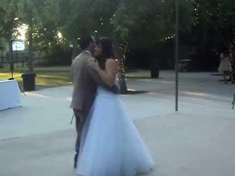 Wedding dj in Fresno MUSIC EXPRESS shares beautiful first dance!