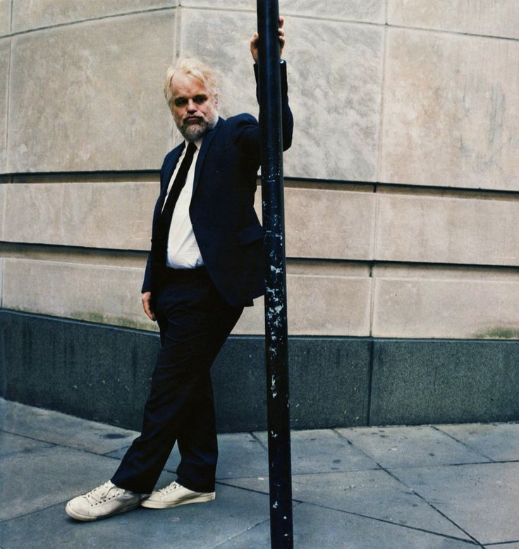 Philip Seymour Hoffman | by Anton Corbijn