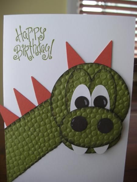 Boy Dragon by crazykim - Cards and Paper Crafts at Splitcoaststampers