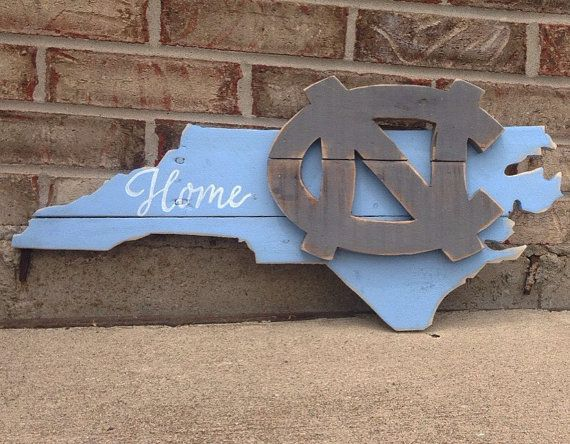 UNC Pallet Sign  North Carolina  Tarheels  College by R2KPallet