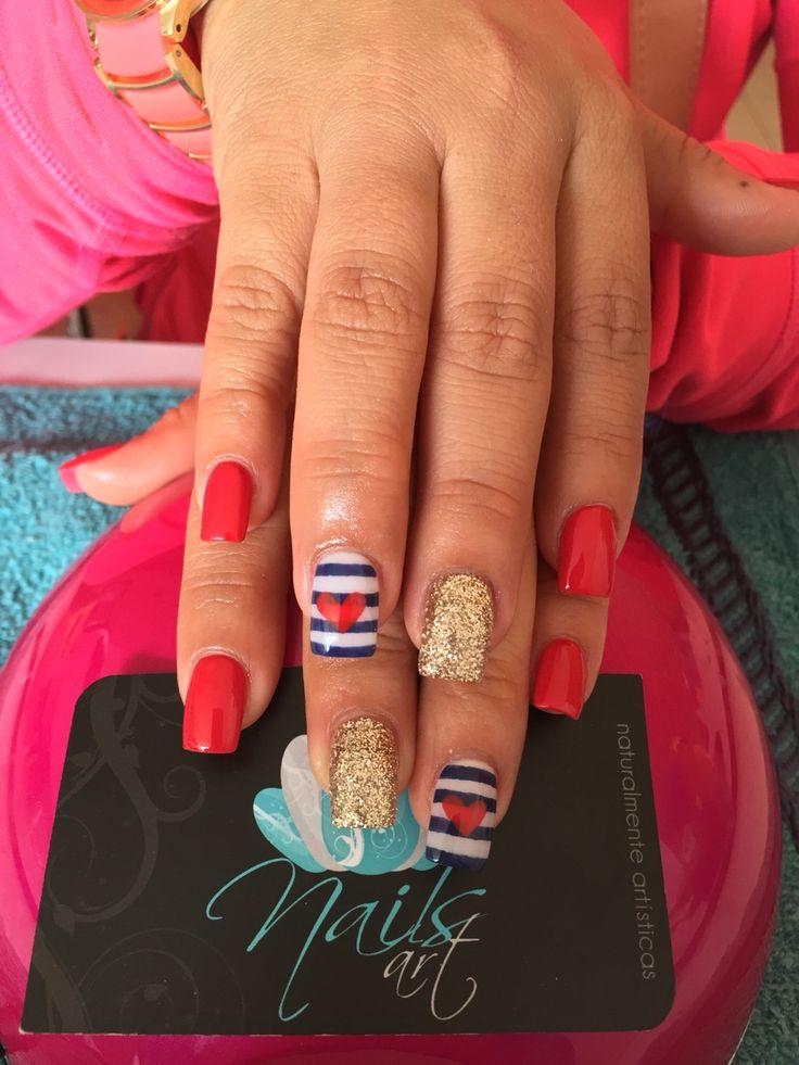27 best Mismatched Manicures images on Pinterest | Nail polish, Cute ...