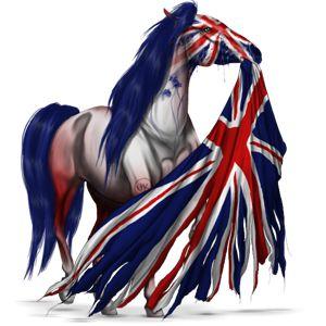 GB, koń wierzchowy Koń fryzyjski Kara #14677166 - Howrse