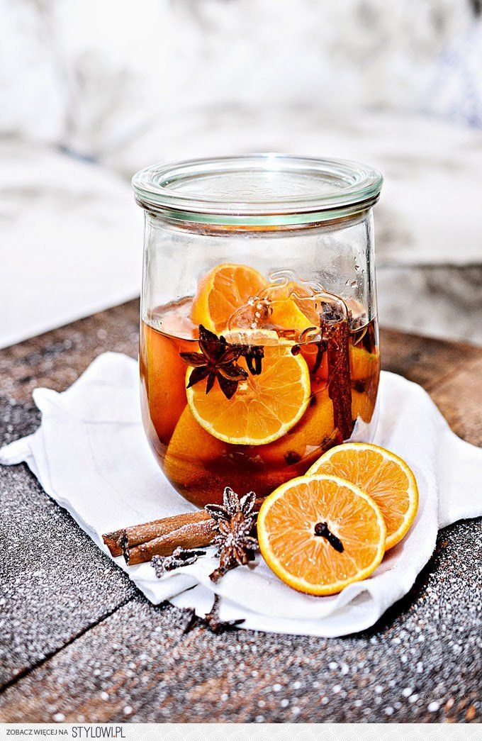 świąteczny likier mandarynkowy
