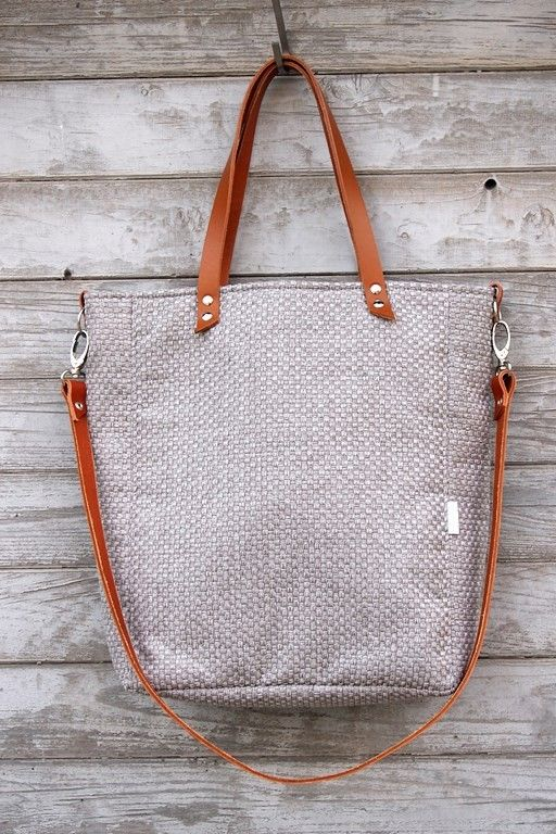 torby na ramię - damskie-Torba Cuboid Mana #plecionka carmell