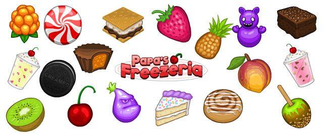 Papa's Freezeria Stickers! « Update « Flipline Studios Blog