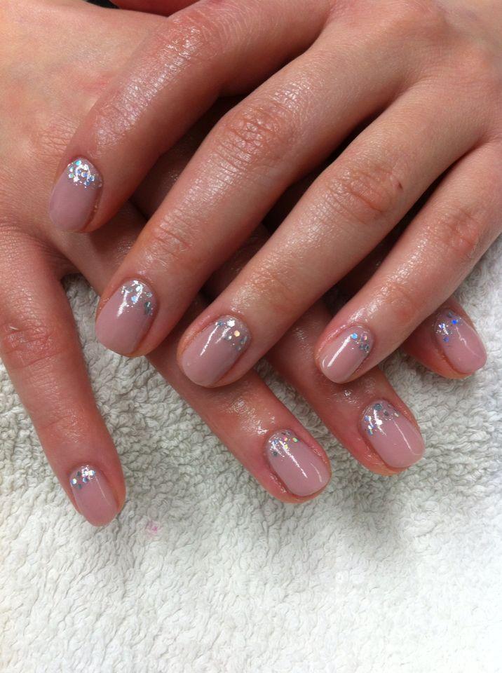 Glitter gel polish