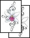 Orchid tattoo idea