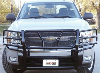Frontier Truck Gear Grille Guard | No replacement bumper