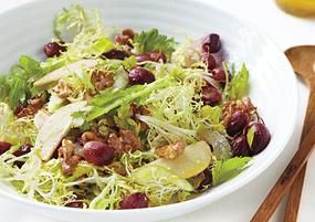 Низкокалорийный Вальдорфский салат