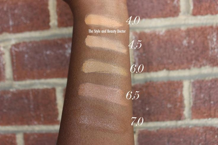anastasia beverly hills concealer swatches on dark skin