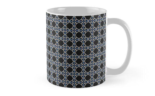 Geometric Art Pattern Mugs #RedBubble #home #Decor shopping
