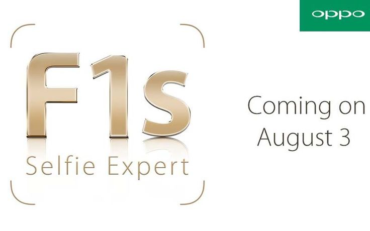 OPPO will launch its selfie centric Smartphone OPPO F1s on 3rd August and will come with Super VOOC fast charging and smart stabilisation technology.