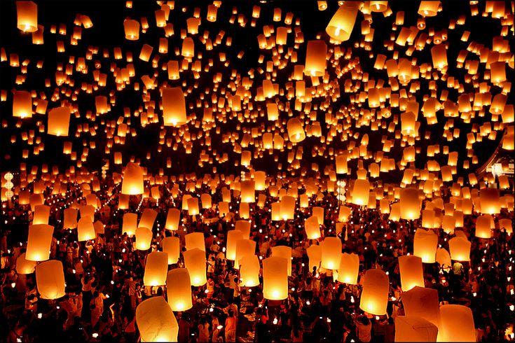 Loi Krathong Thailand