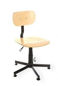 Krzesło spawalnicze Black 02 RKW-15