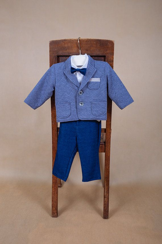 Baby boy suit Wedding outfit Baptism outfit Ring bearer outfit Christening suit Baby boy suit Baptism suit Toddler suit Baptism outfit