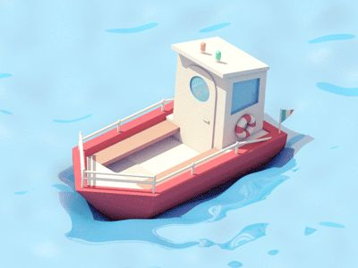 Boat Animations