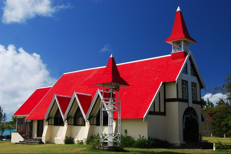The Red Chapel Cap Malheureux, Mauritius