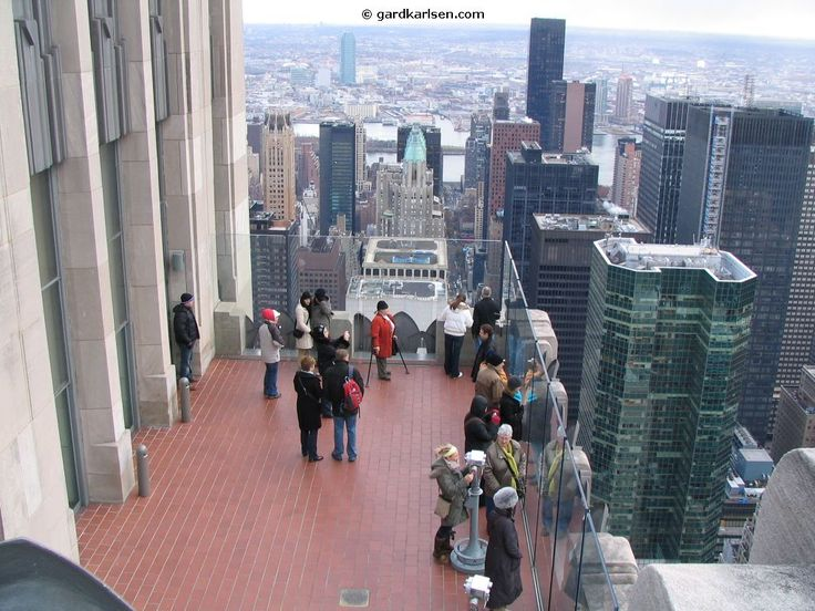 Observation Deck At Top Of The Rock Places To Visit