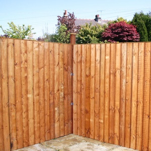6ft x 6ft Vertical Feather Edge Fence Panel - Fence Supermarket