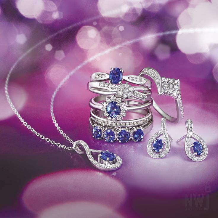 Brand Brochure: 9ct Gold Diamond and Tanzanite Pendant, Earrings and Rings *Valid until 1st Sept 2013 #myNWJwishlist
