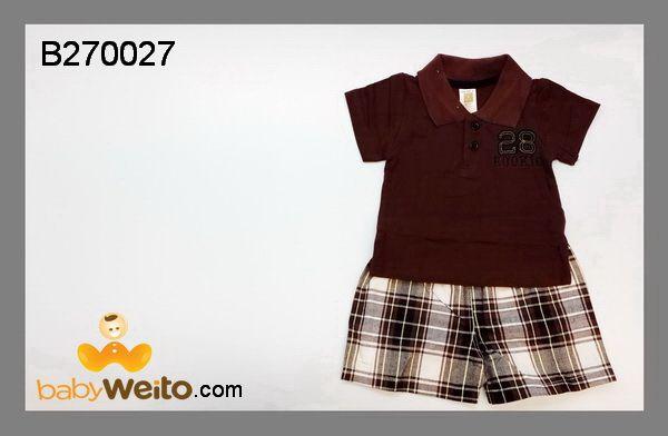 B270027  Baju setelan carters  Bahan halus dan lembut  Warna sesuai gambar  IDR 115*