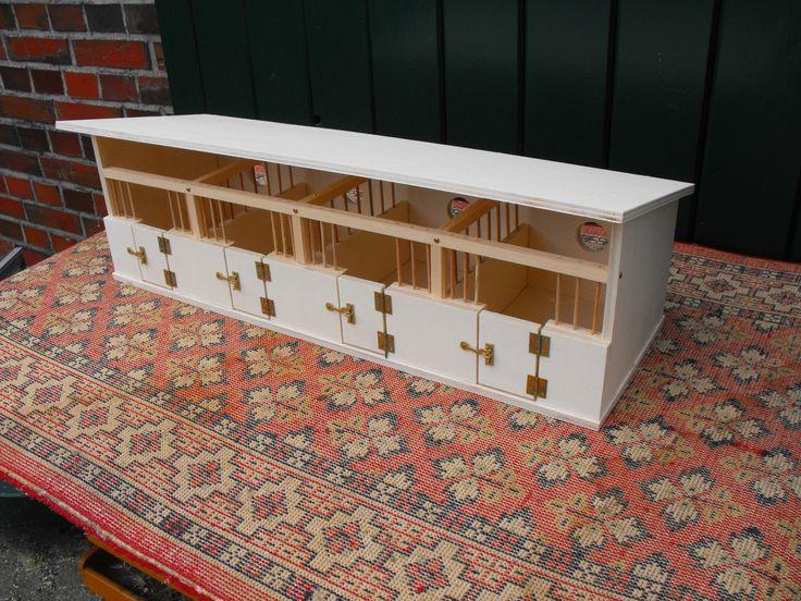 Pferdestall/Pferdeboxen für u.a. Schleich-Pferde, Eigenbau aus Holz | eBay