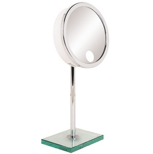Baci M12 Telescoping Mirror With Glass Base 65600