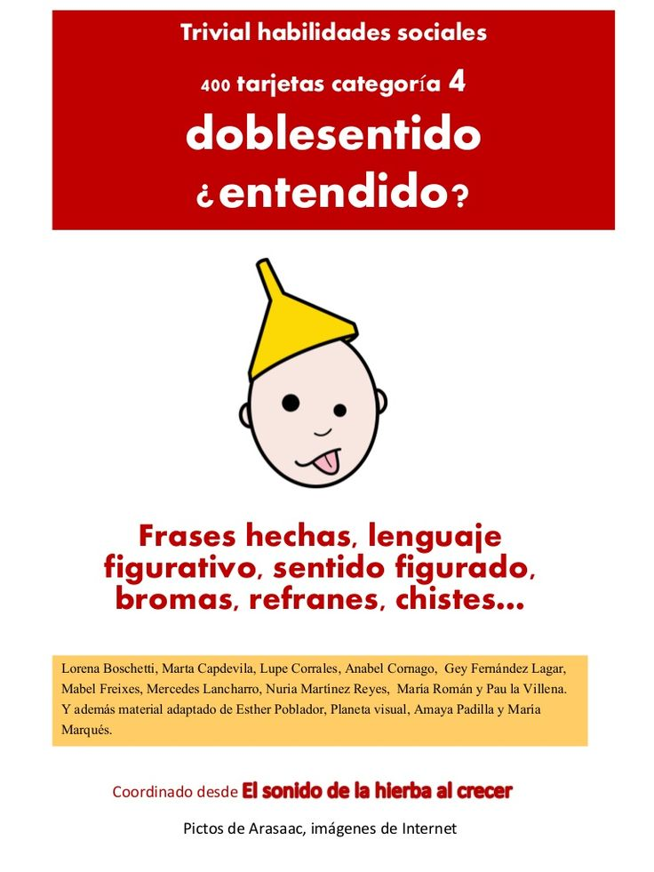 Trivial  Doblesentidos by Anabel Cornago via slideshare
