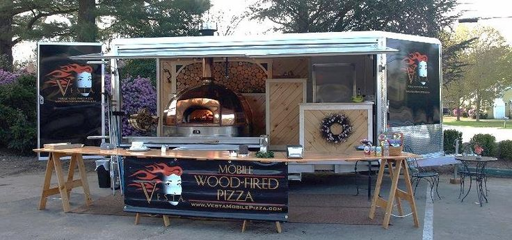 Vesta Mobile-Wood Fired Oven / Le Panyol / Enclosed Pizza Oven / Copper Top