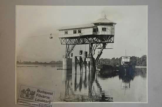 1926 Esztrgomi szénrakodó (itt rakták uszályra a dorogi szenet)