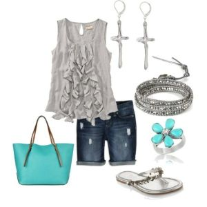 silver and turquoise.....
