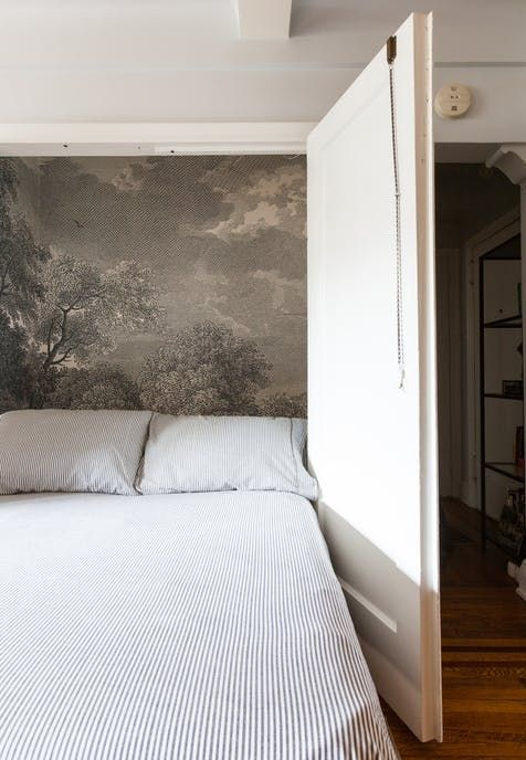 "A Designer's ""Antique Modern"" NYC Studio | Best small apts ideas"