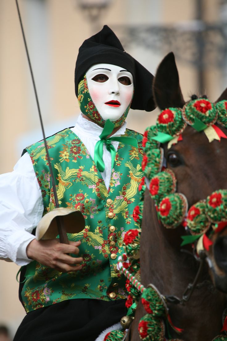 Sa Sartiglia ,Oristano's equestrian festival, Oristano, Sardinia, Italy