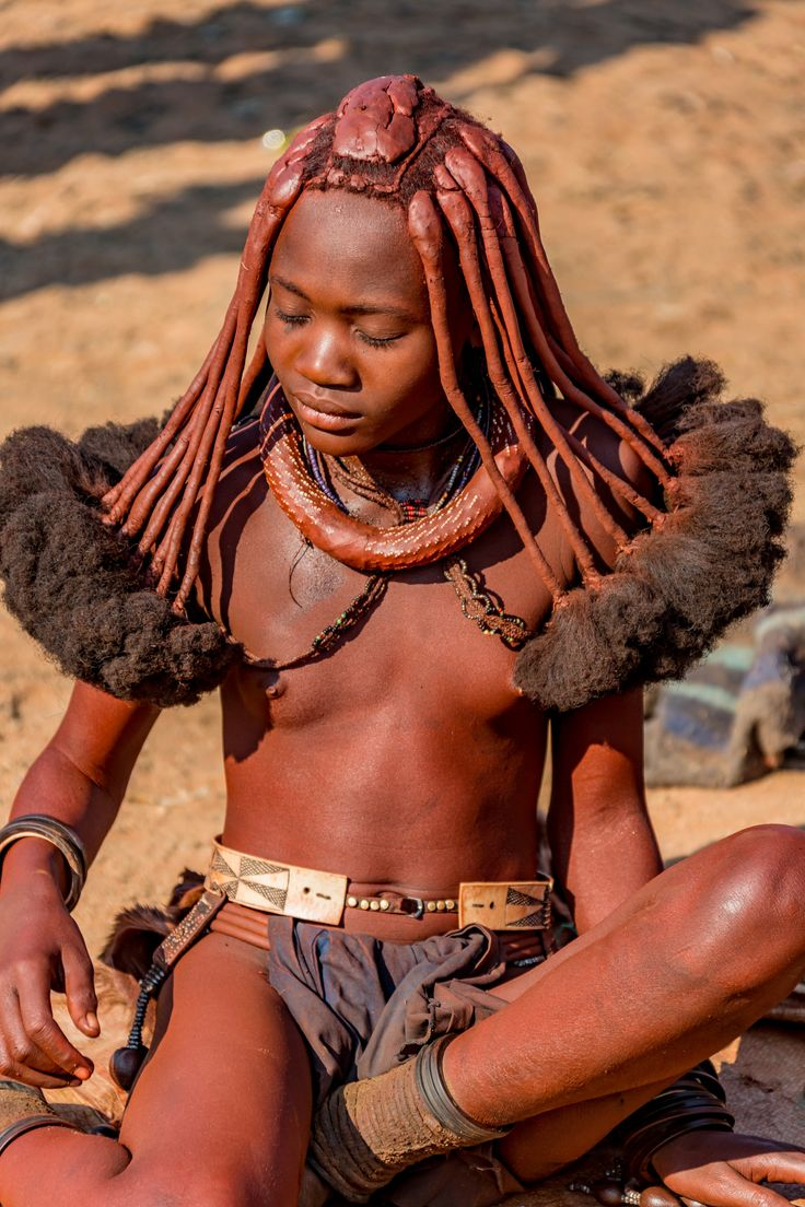 young african girl tribe nude