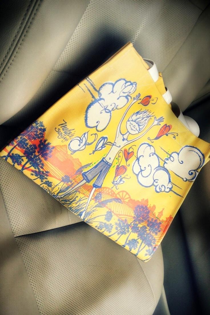 """@Ayu Mayshita 's: """"Les Papillons de Victor"""" Tote"""