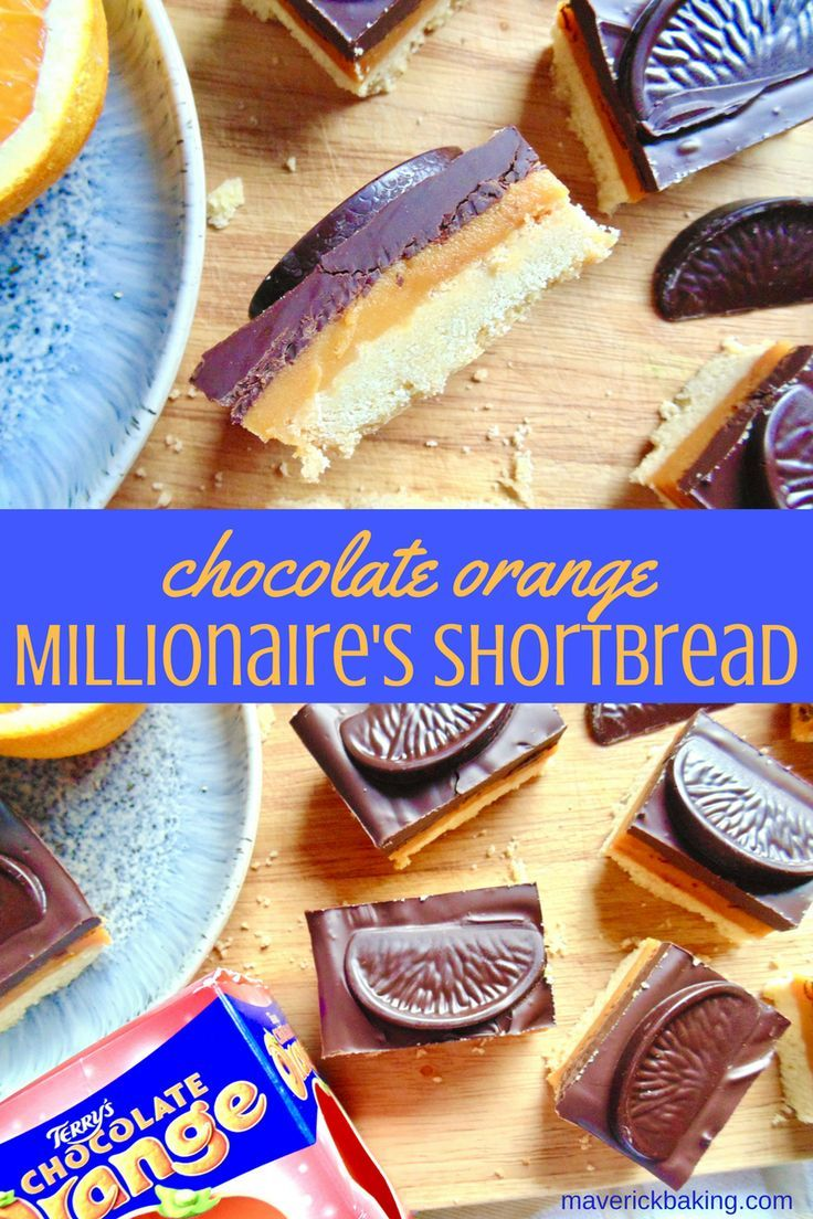 Chocolate Orange Millionaire's Shortbread; crumbly shortbread base, a layer of salted orange caramel, and a generous layer of orange chocolate too. Mouth watering yet?