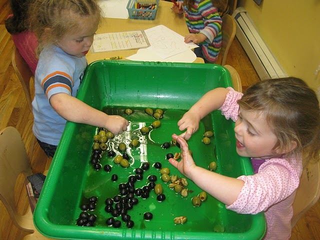 Chanukah Olive Oil Sensory Jewish Preschool Pinterest